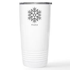 flake Stainless Steel Travel Mug