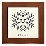 flake Framed Tile