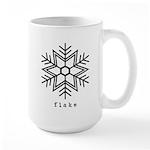 flake Large Mug