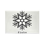 flake Rectangle Magnet (100 pack)