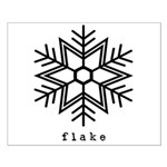 flake Small Poster