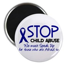 "Stop Child Abuse 2 2.25"" Magnet (10 pack)"