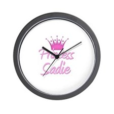 Princess Sadie Wall Clock