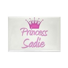 Princess Sadie Rectangle Magnet