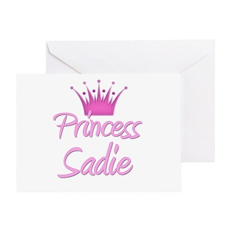Princess Sadie Greeting Card