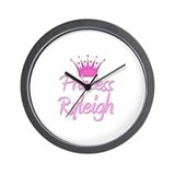 Princess Ryleigh Wall Clock