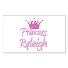 Princess Ryleigh Rectangle Decal