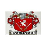Dempsey Coat of Arms Rectangle Magnet (10 pack)