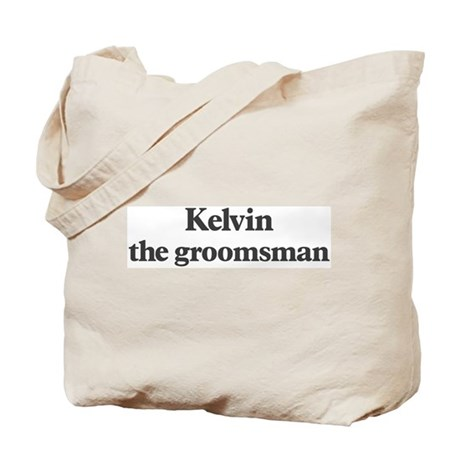 Kelvin the groomsman Tote Bag