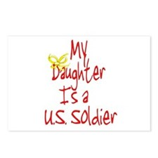 My Daughter is a US Soldier! Postcards (Package of