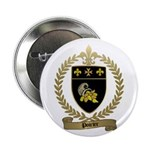 POIRIER Family Crest Button