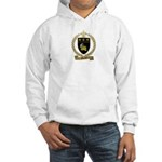 POIRIER Family Crest Hooded Sweatshirt