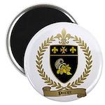 POIRIER Family Crest Magnet