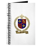 POITRAS Family Crest Journal