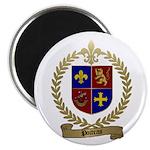 POITRAS Family Crest Magnet