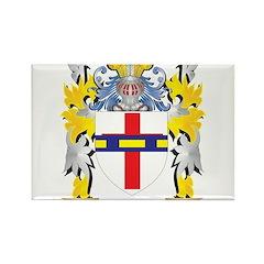 POITRAS Family Crest Messenger Bag