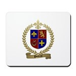 POITRAS Family Crest Mousepad