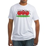 Singing Tomatoes Fitted T-Shirt