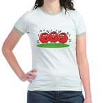 Singing Tomatoes Jr. Ringer T-Shirt