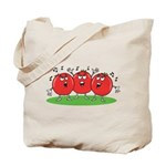 Singing Tomatoes Tote Bag