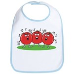 Singing Tomatoes Bib