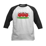 Singing Tomatoes Kids Baseball Jersey