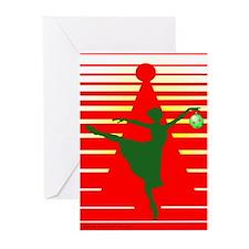 Christmas Ballerina Greeting Cards (Pk of 20)