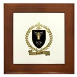 RACETTE Family Crest Framed Tile