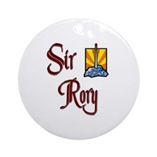 Sir Rory Ornament (Round)