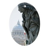 Catherine of Siena in Rome Oval Ornament