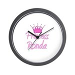 Princess Ronda Wall Clock