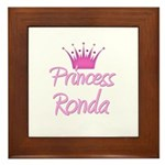 Princess Ronda Framed Tile