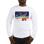 XmasSunrise/3 Cavaliers Long Sleeve T-Shirt