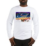XmasSunrise/5 Cavaliers Long Sleeve T-Shirt