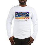 XmasSunrise/American Foxhound Long Sleeve T-Shirt