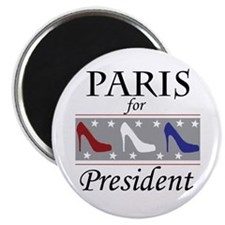 Patriotic Paris Magnet