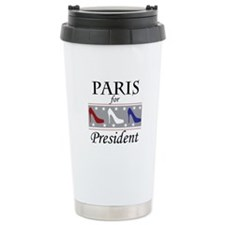 Patriotic Paris Ceramic Travel Mug