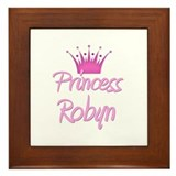 Princess Robyn Framed Tile
