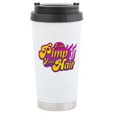 I Can Pimp Your Hair Ceramic Travel Mug