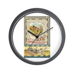 Thanksgiving Joy Wall Clock