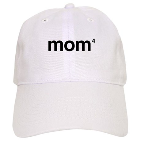 Mom to the Power of 4 Cap