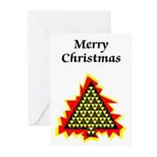 Nuclear Christmas Greeting Cards (Pk of 10)