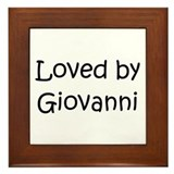 Unique Giovanny Framed Tile