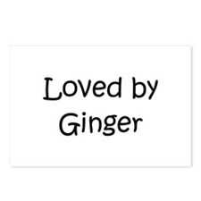 Cute Ginger Postcards (Package of 8)