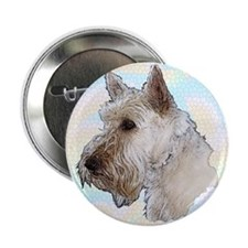 "Scottish Terrier (Wheaten) 2.25"" Button (10 pack)"