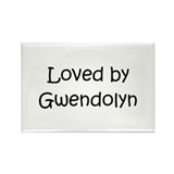 Cute Gwendolyn Rectangle Magnet (100 pack)