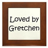 Unique Gretchen Framed Tile