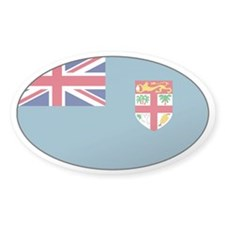 Fijian stickers Oval Stickers