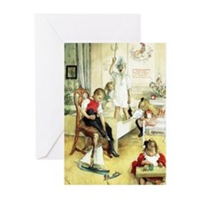 Cute Carl larsson Greeting Cards (Pk of 10)