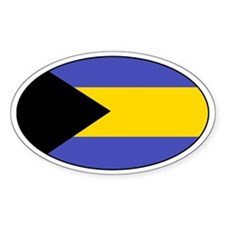 Bahamian Decals Oval Decal